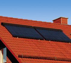 Der Hochleistungs-Vakuum-Röhrenkollektor Vitosol 300-T arbeitet nach dem bewährten Heatpipe-Prinzip. Zu den bevorzugten Einsatzgebieten für den Vitosol 300-T zählen Anlagen, bei denen über einen längeren Zeitraum mit hoher Sonneneinstrahlung keine Wärmeabnahme erfolgt. Dazu gehören beispielsweise Schulgebäude, in denen während der Sommerferien keine Energie benötigt wird.