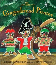 "After reading the Gingerbread Pirates, have the students make their own pirate gingerbread men.  And them have them write ""how to eat a gingerbread man"""
