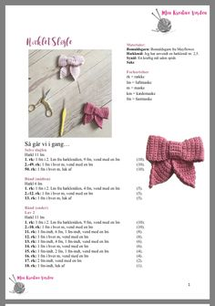 Crochet Home, Crochet Baby, Knit Crochet, Crochet Ornaments, Drops Design, Crochet Hair Styles, Crochet Clothes, Crochet Flowers, Baby Knitting