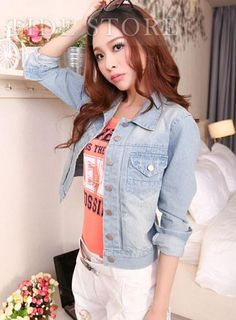 Shop Smart Slim Long Sleeves Jacket on sale at Tidestore with trendy design and good price. Come and find more fashion Jackets here. Halloween Sale, Halloween Make Up, Cheap Stores, Affordable Clothes, Jacket Style, Fashion Outfits, Fashion Clothes, Slim, Cheap Jackets