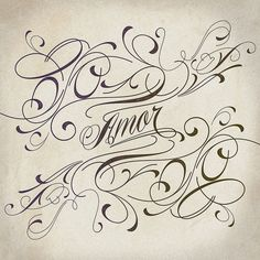Piel Script, tattoo-style typeface created by Ale Paul