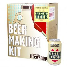 Create your own brew with the Beer Making Kit: Evil Twin Bikini Beer, available at the Food Network Store