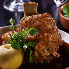 Try this Crispy Pork Knuckle recipe.