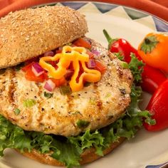 Grilled Jalapeno Turkey Burgers ... Try these spicy burgers made with fresh ground turkey, pickled jalapeno peppers and spices served on a toasty bun at your next warm weather cook out.