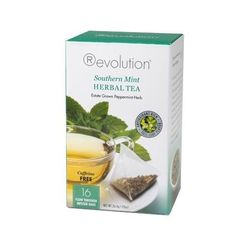 Revolution Tea Southern Mint Herbal Tea 16 Count *** See this great product.Note:It is affiliate link to Amazon.