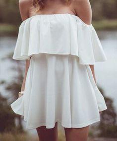 #summer #fashion / off-the-shoulder