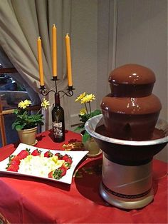 The chocolate fountain is flowing every Friday & Saturday night in March at El Pueblo Inn Sonoma. Special rates for Sonoma Valley Girlfriends Getaway!