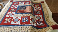 Quilt made by Ruth. Longarm quilted by Le Ann Weaaver with www.persimmonquilts.com