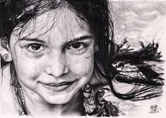 little_girl_with_wet_face__pencil_drawing__by_chaseroflight