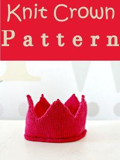 Knit Crown Pattern. (Affiliate link)