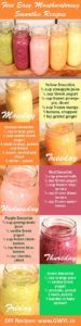 5 Easy and Healthy Smoothie Recipes
