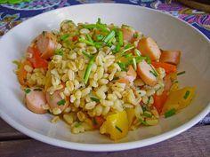Bunte Ebly - Pfanne, ein sehr schönes Rezept aus der Kategorie Gemüse. Bewertungen: 46. Durchschnitt: Ø 4,2.