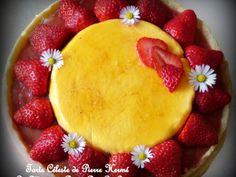 La tarte céleste de pierre hermé, fraises, rhubarbe et fruit de la passion