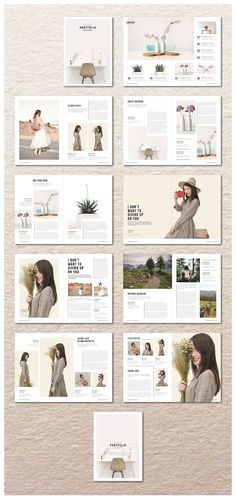 Portfolio Magazine by MA-KING_ART on @creativemarket