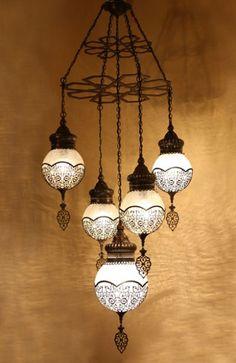 Desenli Klasik Osmanlı Balon Avize #lighting #aydinlatma #ottoman #osmanli