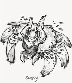 The Art of League of Legends- Red Buff concept art League Of Legends, Character Concept, Concept Art, Character Design, Pokemon Fusion, Video Game Characters, Reference Images, Fantasy Creatures, Line Art