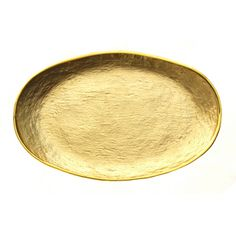 Glamour Gold Oval Tray - Overstock™ Shopping - Great Deals on Badash Serving Platters/Trays