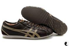 9532b5d585b3 Asics Onitsuka Tiger Olympos Running Shoes Brown Tiger Shoes
