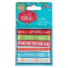 Create Christmas Folk Wreaths Papermania Adhesive Craft Stickers
