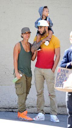 Alicia Keys, Swizz Beats, and their son♥