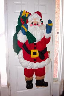 Santa I made about 16 years ago.
