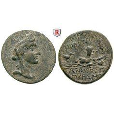 Kilikien, Hieropolis Kastabala, Bronze 2.-1.Jh. v.Chr., vz/ss+: Bronze 22,5 mm 2.-1.Jh. v.Chr. Kopf der Tyche mit Mauerkrone und… #coins