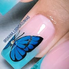 Manicures, Nails, Turquoise, Floral, Beautiful, Instagram, Nail Bling, Work Nails, Stickers