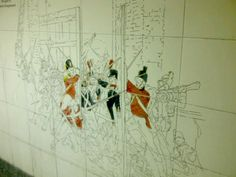 Hyde Park Corner Station Murals - London