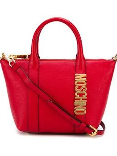'Letters' tote Moschino