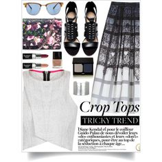 """""""The Textured Crop Top 