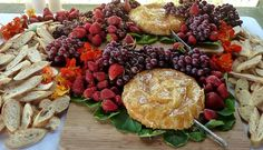 Caramelized Baked Artisan Brie from the menu of our current Farm to Table Dinner at Holbrook Farm in October