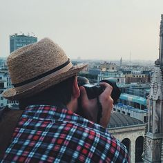 #Fromwhattheysee on top of the Duomo - Instagram by travelita