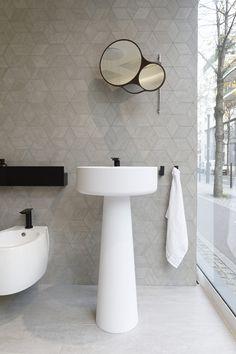 Vasque Design Lavabo Sculptural Agape Bjhon By Angelo Mangiarotti En Cristalplant Blanc Salle De Bain Design Vasque Design Accessoires Salle De Bain