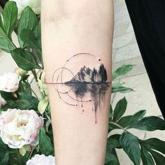 Awesome Tattoos: 22 Awesome Mountain Tattoos That You Will Love