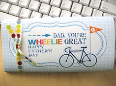 For the cyclist dads out there! #fathersday