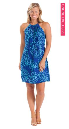 83e1c075ace2 You can t beat a pretty palm print dress! Casual Dresses