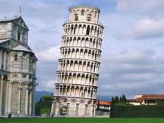 See the Leaning Tower of Pisa
