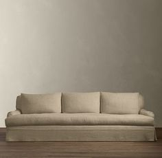 Belgian Classic Roll Arm Slipcovered Sofa - Restoration Hardware-- my new couch when I get one! Hands down the comfiest and fits all my style wants. Living Room Update, Keeping Room, Classic Sofa, Medicine Cabinet Mirror, Modern Shop, Home Hardware, Rug Sale, Sleeper Sofa, Indoor Outdoor Rugs