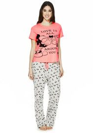 dc7a96a3b2 Disney Minnie and Mickey Mouse Slogan Pyjamas Mickey Mouse Outfit