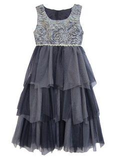 30d5f677b14 Isobella   Chloe Desert Fire Silver Girls Dress Sizes 7-14 NEW Girls Dresses  Tween