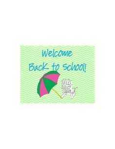 Welcome your students back to school with these postcards to match your lime and aqua beach theme!  This is a great addition to any classroom!  Gra...