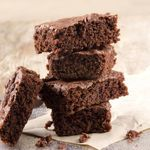 Flourless Brownies (Sugar-Free, Low Carb) Brownies are often not diabetic-friendly because of the amount of carbs the flour contains. But, these flourless brownies solve that problem! Calories - 110 Carbohydrates - 3.5g Saturated Fat - 6.6g Protein - 2.4g Sodium - 47mg Dietary Fiber - 1.7g
