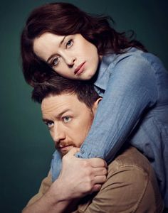 Claire Foy and James McAvoy in the Trafalgar Studios Production of 'Macbeth', 2013