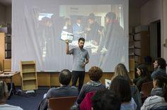 """Presentación de la maqueta """"Ser de La Cala"""" en la Biblioteca Pública de Tarragona, 5/11/2016 con Román Yñán i Ignasi López, autoeditat col·laborativament. Las piezas del """"Ser de la Cala"""", se habían gestado mucho antes, en 1974 en L'Ametlla de Mar en un proyecto-proceso que ha durado hasta este año. A inicios de 2016 """"Ser de la Cala"""" vuelve a llamar a la puerta de la mano de su jugador principal: Gerard Boyer, con nuevas piezas ..."""