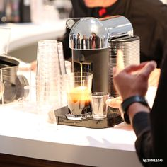 Nespresso VertuoLine | Experience the revolution of coffee. Click here to explore the VertuoLine Nespresso machine.
