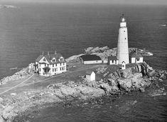 Boston Lighthouse in 1947