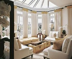 ... sunroom will remain warm and inviting, regardless of the change in