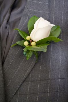 Use This Step-by-Step Guide to Pin A Boutonniere: Step 4: You're Done!