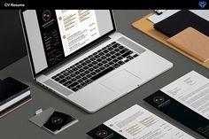 Clean Minimal CV/Resume Template pack