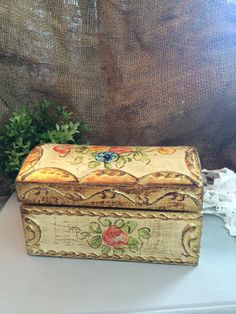 Colorful and Romantic Florentine Box by DaphsSmallWorld on Etsy